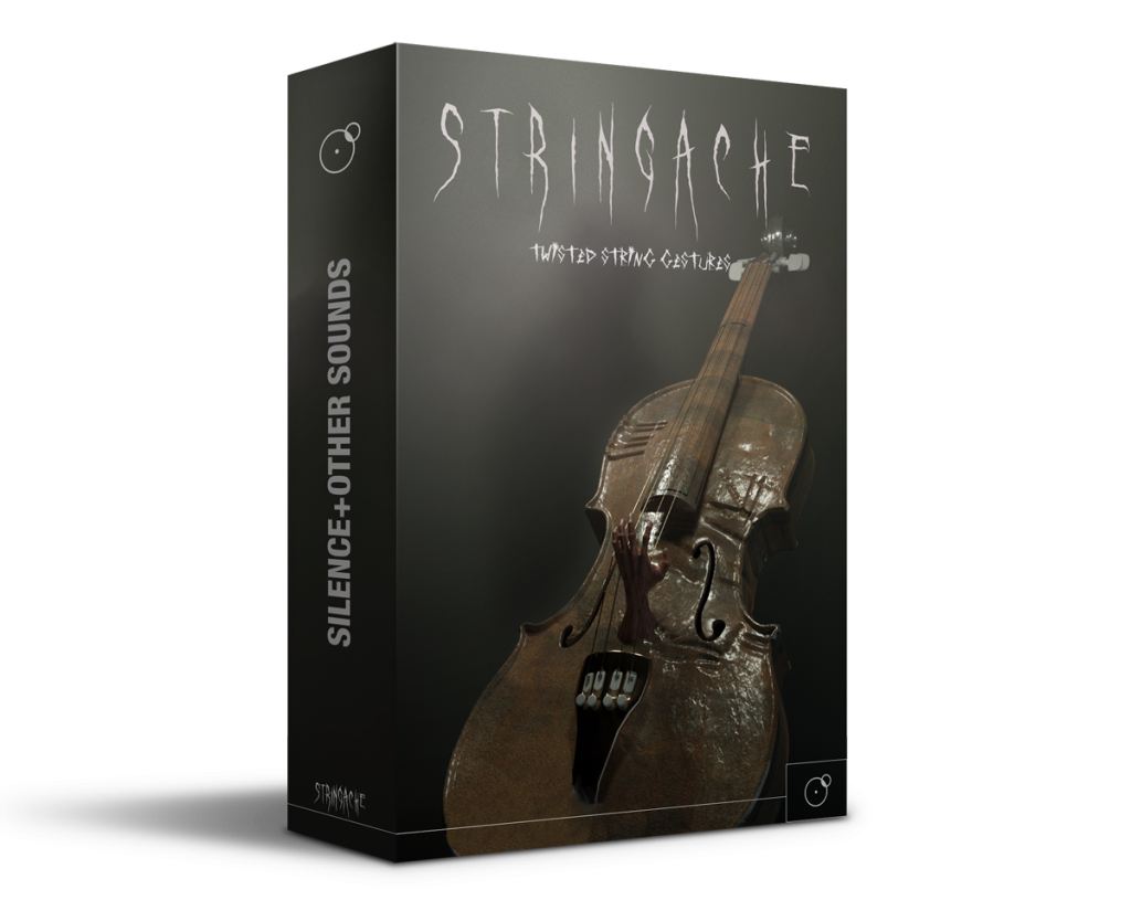 Stringache Horror sound library Artwork by Franz Russo