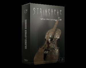 Stringache Horror sound library Artwork by Franz Russo