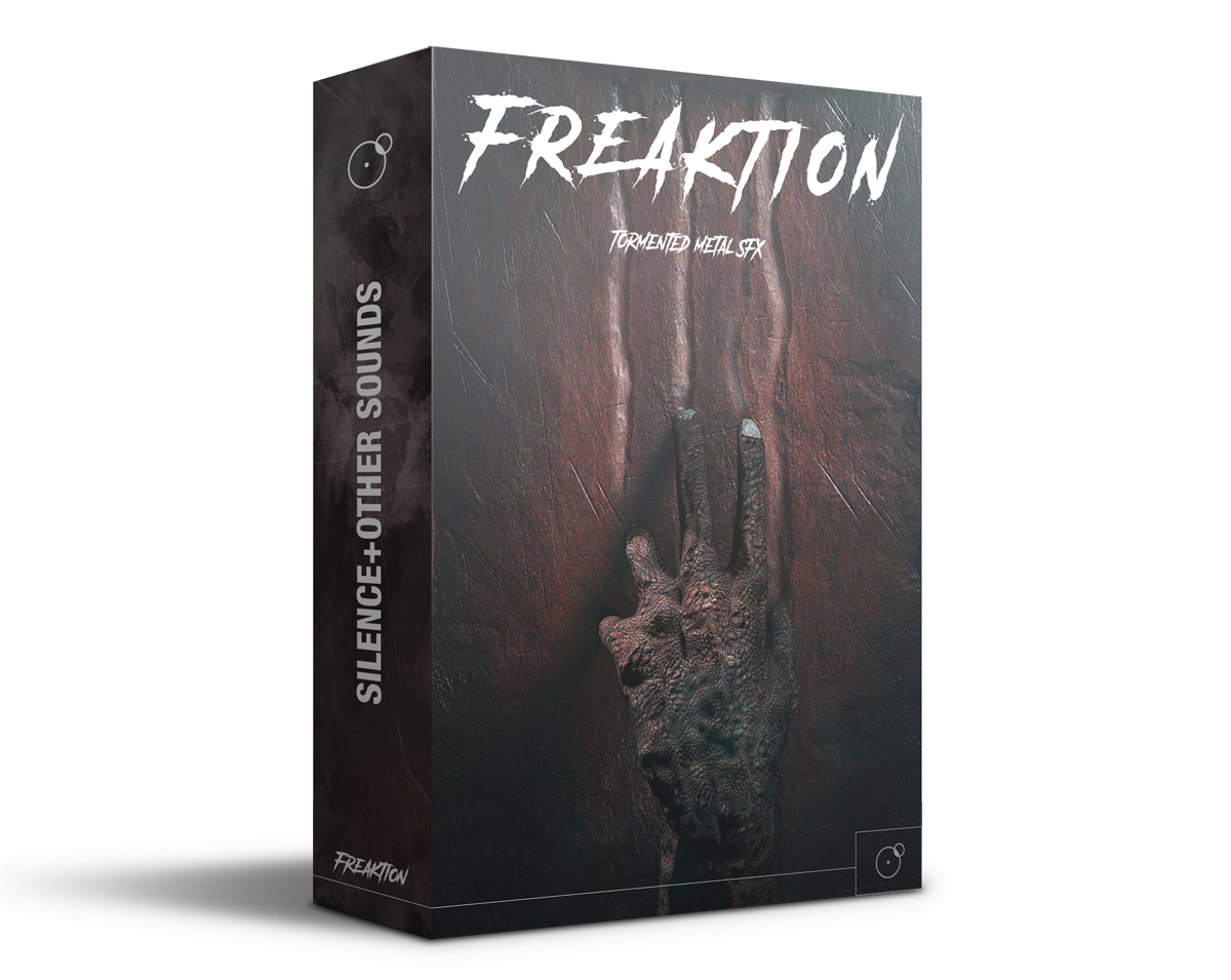 Freaktion Horror cinematic sound library Artwork by Franz Russo