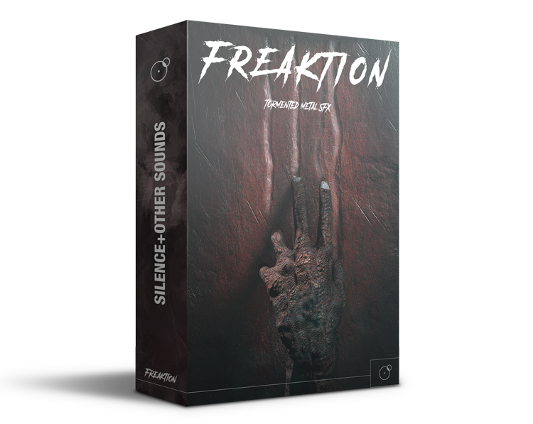 Freaktion Tormented metal SFX Horror cinematic sound library Artwork by Franz Russo
