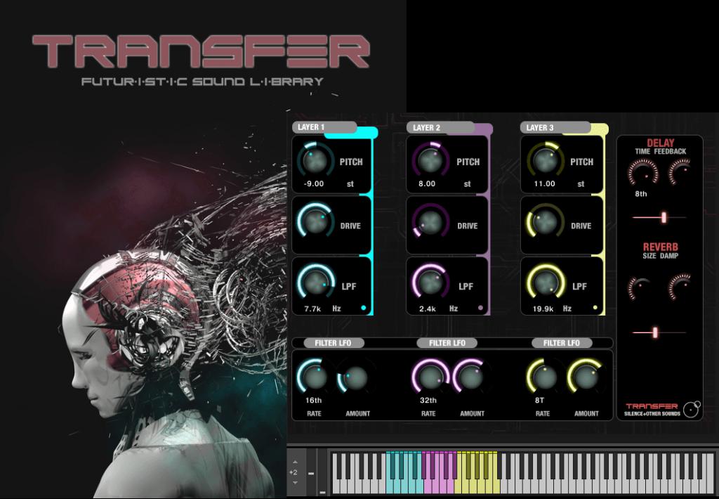Transfer Sound Pro Edition skin Kontakt Instrument
