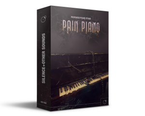 Pain Piano Prepared Piano Stabs Cinematic Sound Library - Artwork by Franz Russo