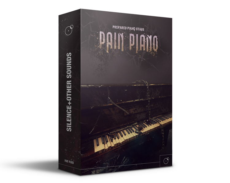 Pain Piano - Prepared Piano Stabs Sound library