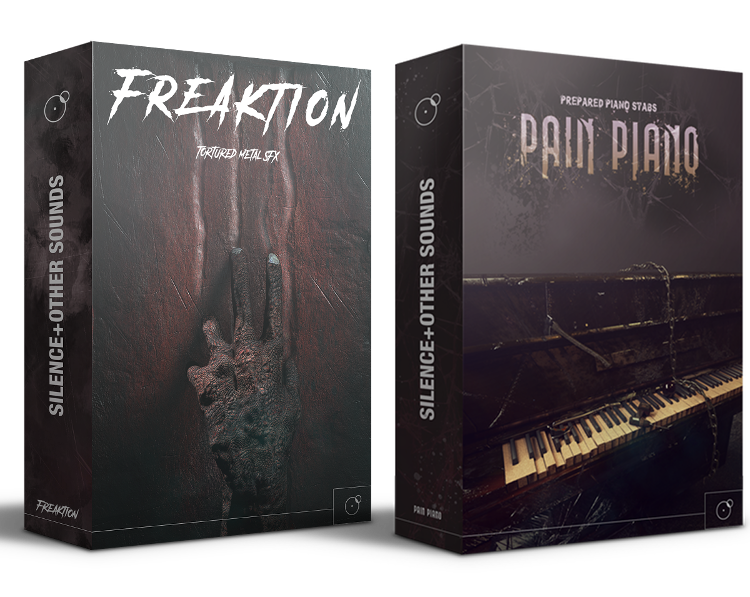 Freaktion and Pain piano Horror Cinematic and metal fxs bundle