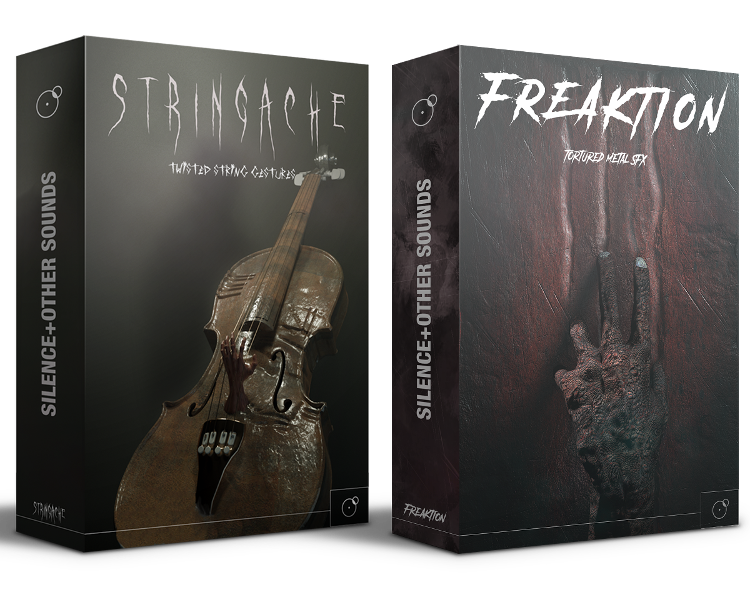 Stringache and Freaktion bundle tormented metal sfx twisted string gestures