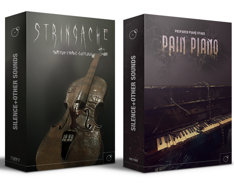 Stringache and Pain Piano bundle Horror sound library