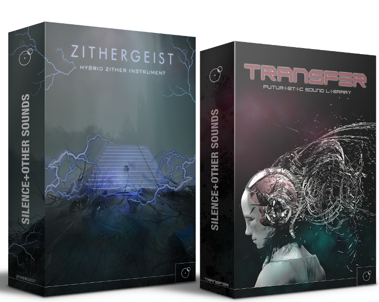 Transfer Futuristic Sound Library and Zithergeist bundle