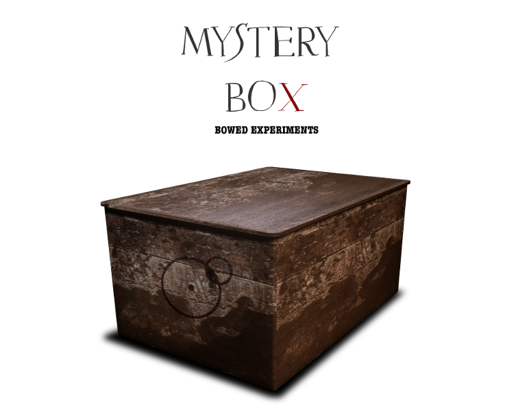 Mistery Box Bowed Experiments artwork by franz russo