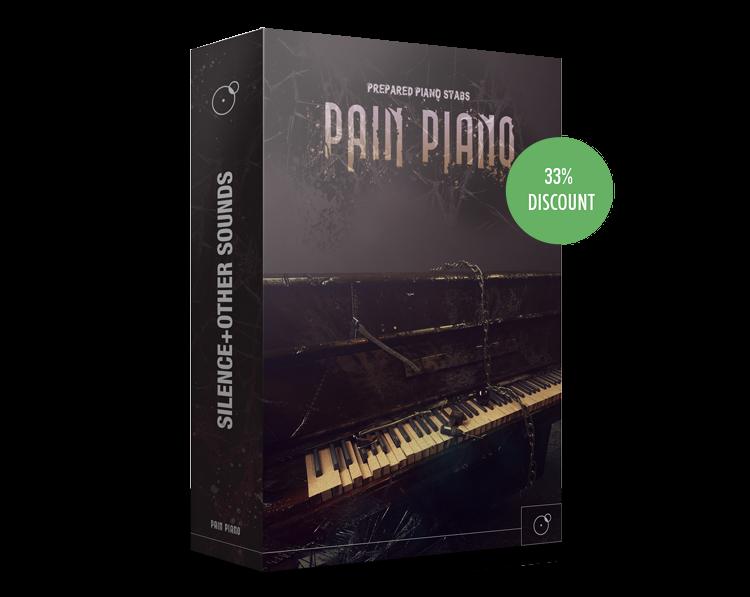 Pain Piano - Prepared Piano Stabs Sound library